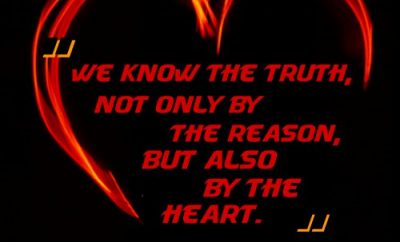 Blaise Pascal Christian Quote - the heart
