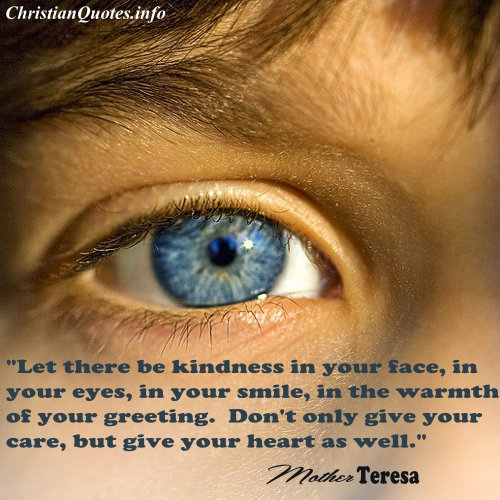 Mother Teresa Quote Kindness Christianquotes Info