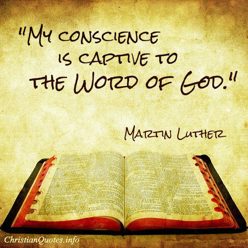 Martin Luther Quote Word Of God Christianquotesinfo