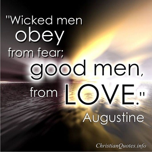 Augustine Quote - Wicked Men