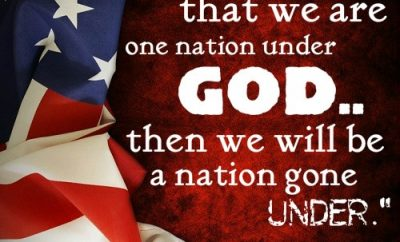 Ronald Reagan Quote - One Nation