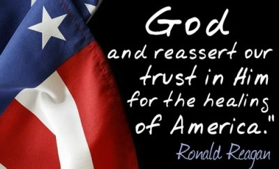 Reagan Quote - Healing of America