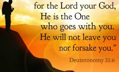 Deuteronomy 31 - Strength and Courage