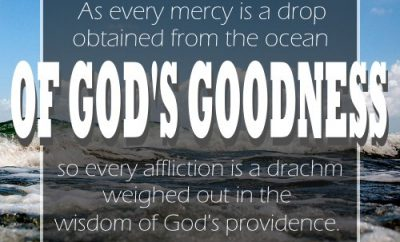 James H Aughey Christian Quote - Mercy of God