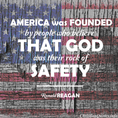 ronald reagan quote america founded