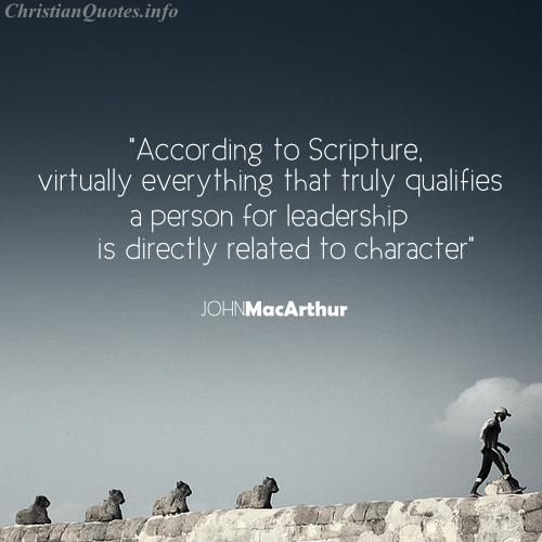 John Macarthur Quotes Glamorous John Macarthur Quote  Leadership  Christianquotes