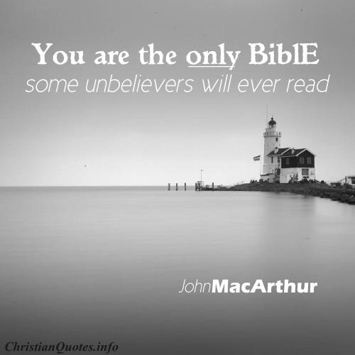 John Macarthur Quotes Awesome John Macarthur Quote  The Bible To Unbelievers  Christianquotes
