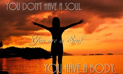 C.S. Lewis Quote - You don't have a soul. You are a Soul. You have a body.