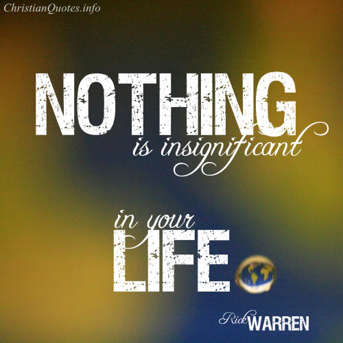 Rick Warren Quote Life Is A Test Christianquotesinfo