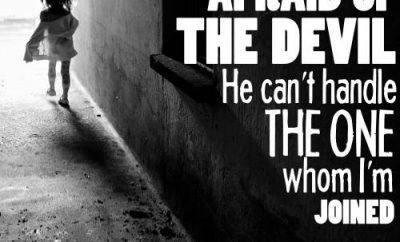 "A.W. Tozer Quote - ""I'm not afraid of the devil. I'm not afraid of the devil."""