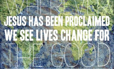 John McDowell Quote - Wherever Jesus has been proclaimed, we see lives change for the good""