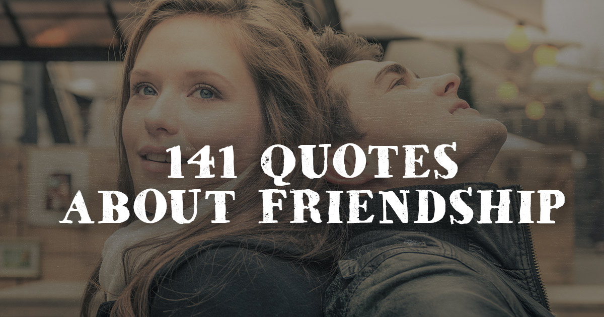 Christian Quotes About Friendship Gorgeous 141 Quotes About Friendship  Christianquotes