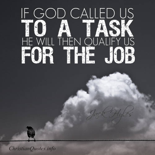 Jack Hyles Quote God's Calling For Us ChristianQuotes Interesting God Quotes