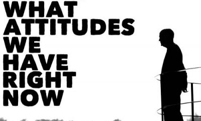 "John Maxwell Quote - ""We choose what attitudes we have right now. And it's a continuing choice."""