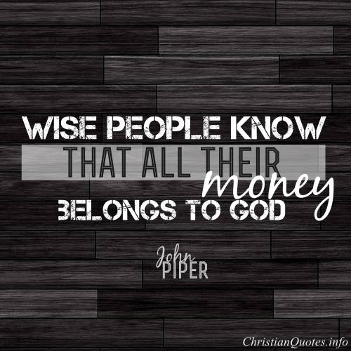 John Piper Quotes Impressive John Piper Quote The Top 48 Ways People Let Money Ruin Their Lives
