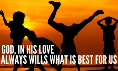 "Jerry Bridges quote - ""God, in His love always wills what is best for us."""