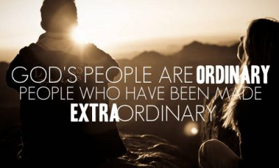 """Oswald Chambers Quote - """"""""All of God's people are ordinary people who have been made extraordinary"""""""