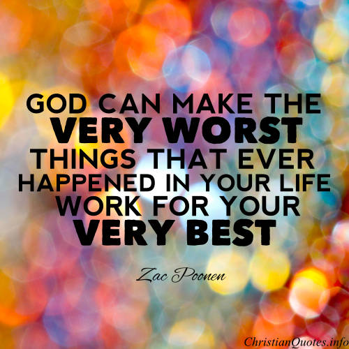Zac Poonen Quote Eeverything Can Lead You Closer To God