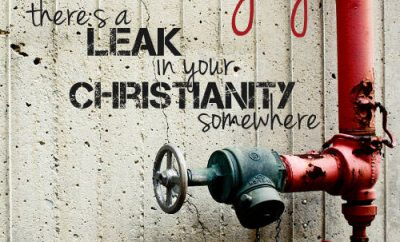 "Billy Sunday Quote - ""If you have no joy, there's a leak in your Christianity somewhere."""