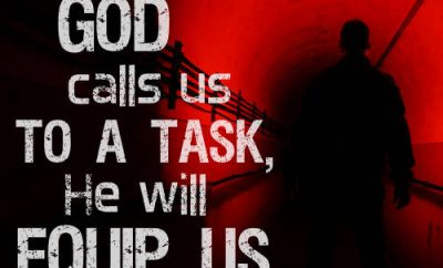 Michael Youssef Quote - Whenever God calls us to a task, He will equip us""