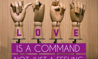 "Ravi Zacharias Quote - ""Love is a command, not just a feeling."""