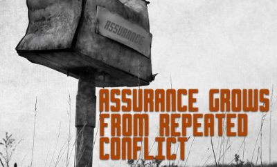 "John Newton Quote - ""Assurance grows by repeated conflict"