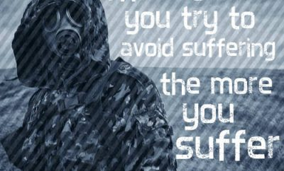 "Thomas Merton Quote - ""the more you try to avoid suffering the more you suffer"""
