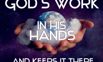 "EM Bounds Quote - ""Prayer puts God's work in his hands-and keeps it there."""