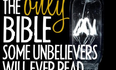 """John MacArthur Quote - """"You are the only Bible some unbelievers will ever read."""""""
