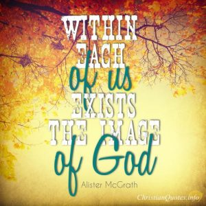Alister McGrath Quote image of God
