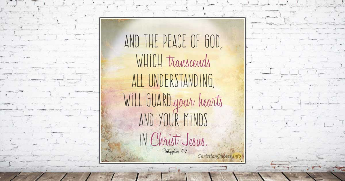 4 Things About The Peace Of God Christianquotesfo