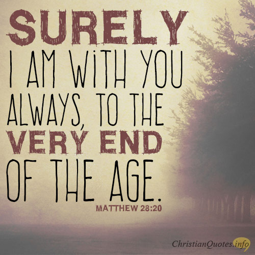 4 Ways God Is Always With Us Christianquotesinfo