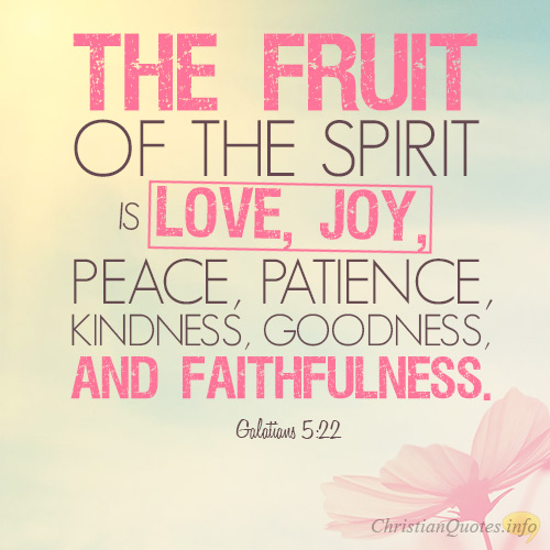 Peace Love Joy Quotes Cool 20 Awesome Quotes About The Fruits Of The Spirit  Christianquotes