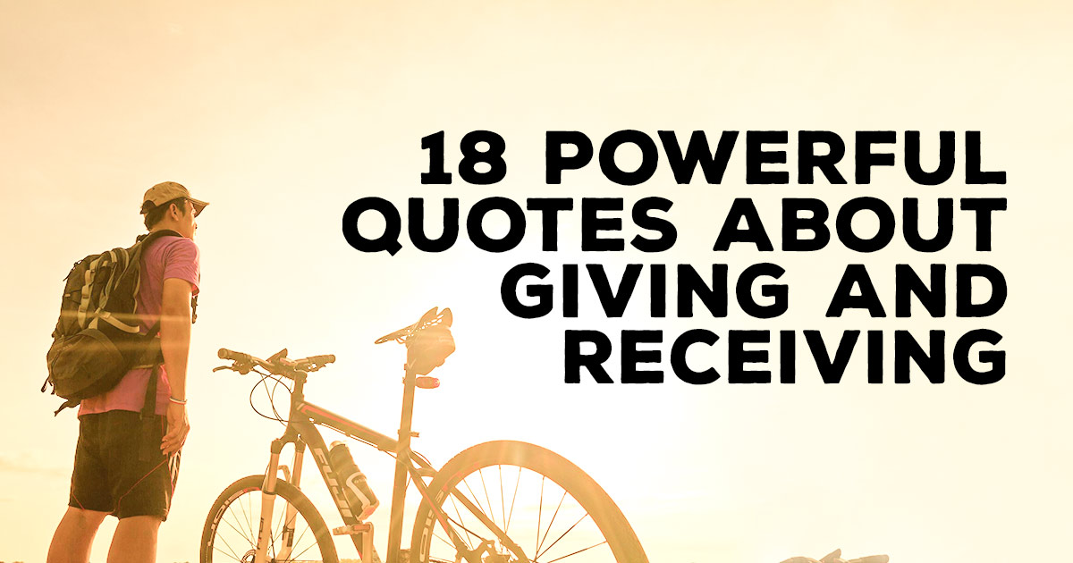 60 Powerful Quotes About Giving And Receiving ChristianQuotes Beauteous Quotes And Sayings On Giving