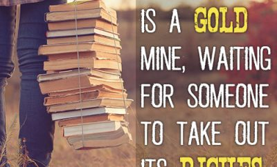 The Bible is a gold mine, waiting for someone to take out its riches