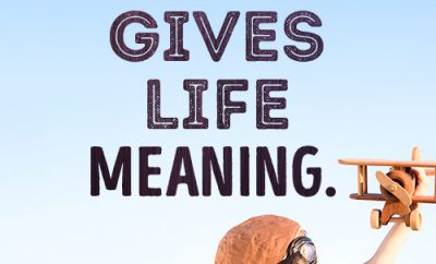 God's purpose gives life meaning