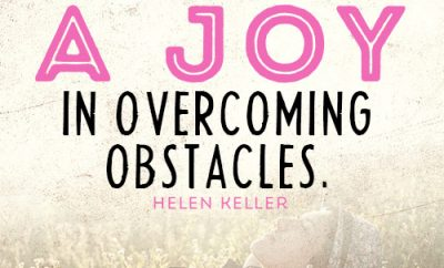 Helen keller quote images helen keller you will find a joy in overcoming obstacles altavistaventures Image collections