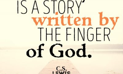 History is a story written by the finger of God