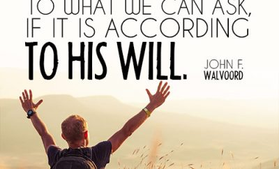 There is no limit to what we can ask, if it is according to His will