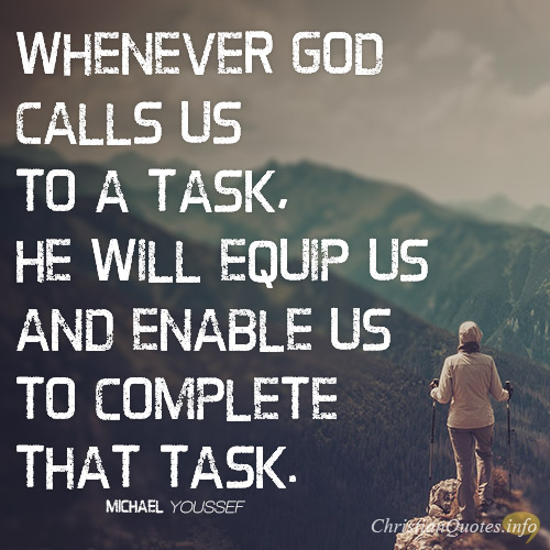 3 Ways God Equips Us For A Task   ChristianQuotes info