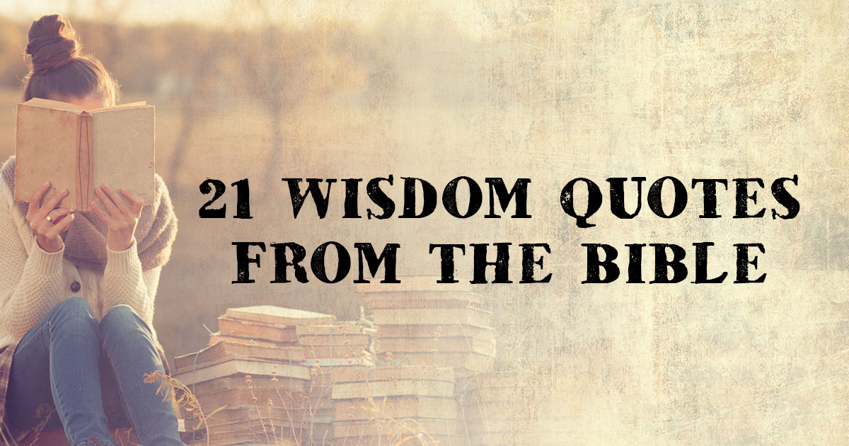 wisdom books of the bible quotes