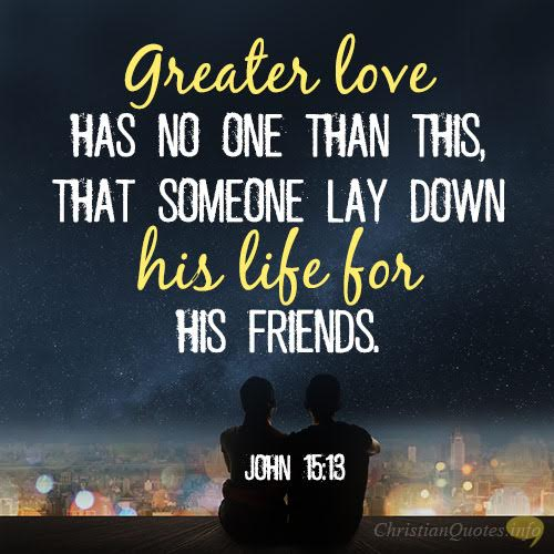 Verses about loving others