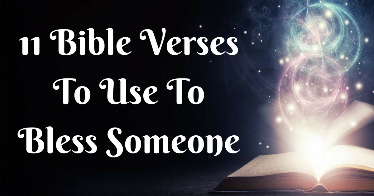 Blessed Quotes From The Bible Unique 48 Bible Verses To Use To Bless Someone ChristianQuotes