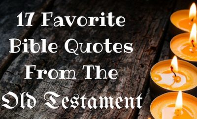 17 Favorite Bible Quotes From The Old Testament ...