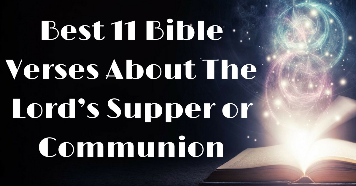 communion quotes from the bible