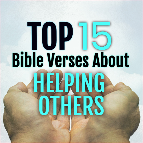 bible Verses About Helping Others
