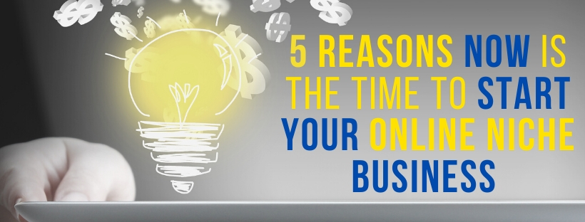 5 Reasons Now Is The Time To Start Your Online Niche Business