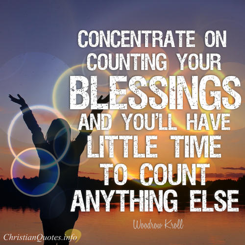 17 Beautiful Quotes About Blessings Christianquotesinfo